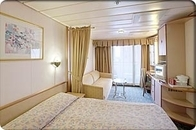 Deluxe Ocean View Stateroom with Balcony (E2)