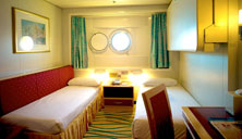 Oceanview Stateroom with Port Hole (CD)