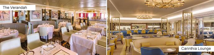 Cunard Cruises - new restaurants