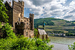 Rheinstein Castle, Rhine Valley