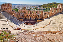 Herodion Theatre, Athens, Greece