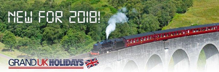 Grand UK Rail holidays! - New for 2018