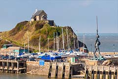 Ilfracombe harbour statue