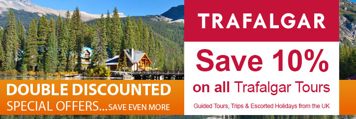 Save 10% on all Trafalgar Tours
