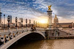 Pont Alexandre III on Seine
