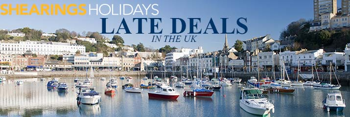 Last minute cheap offers from Shearings Holidays UK