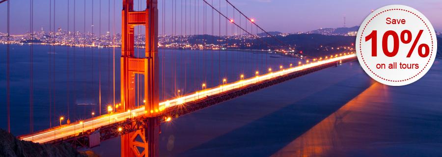 Trafalgar Holidays in San Francisco - Golden Gate Bridge