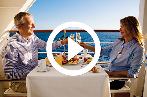 Azamara Club Cruises Dining Video
