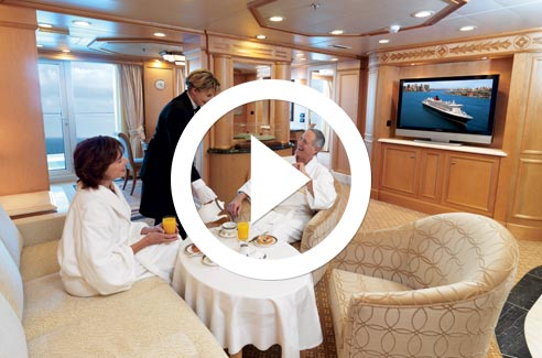 Cunard Line Accommodation Video