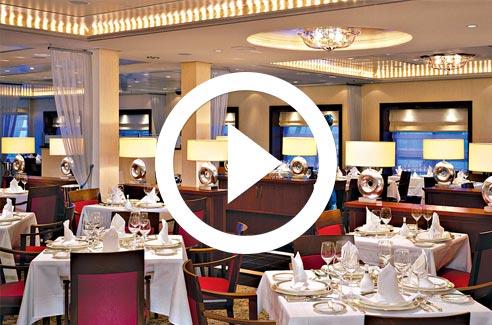 Cunard Line Dining Video