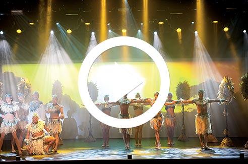 P&O Cruises Entertainment Video