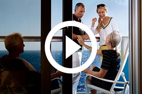 Princess Cruises Accommodation Video