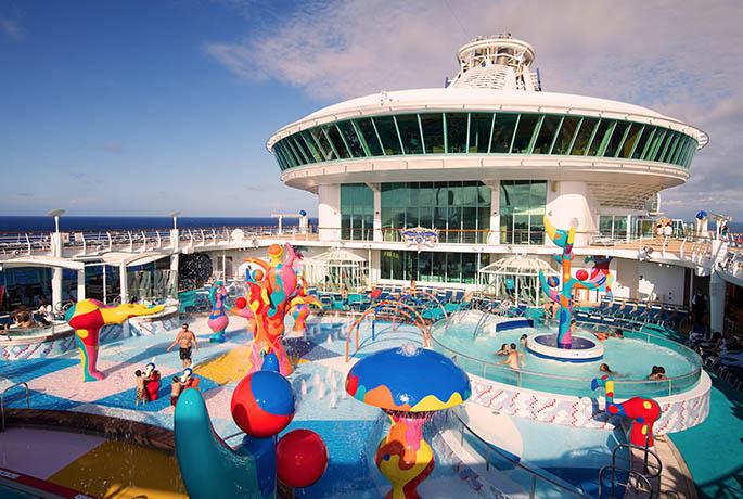 Royal Caribbean Cruises Pool Area Image