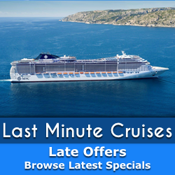 Last Minute Cruise Holiday Special Offers
