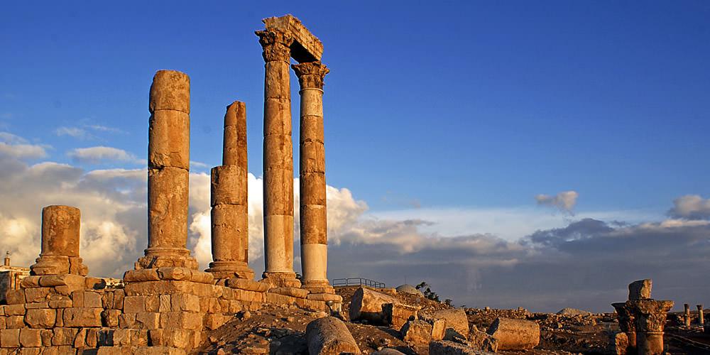 Amman Citadel in Amman
