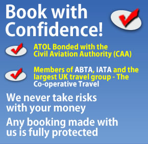 Book with Confidence | ATOL, CAA, ABTA, IATA, Co-operative Travel