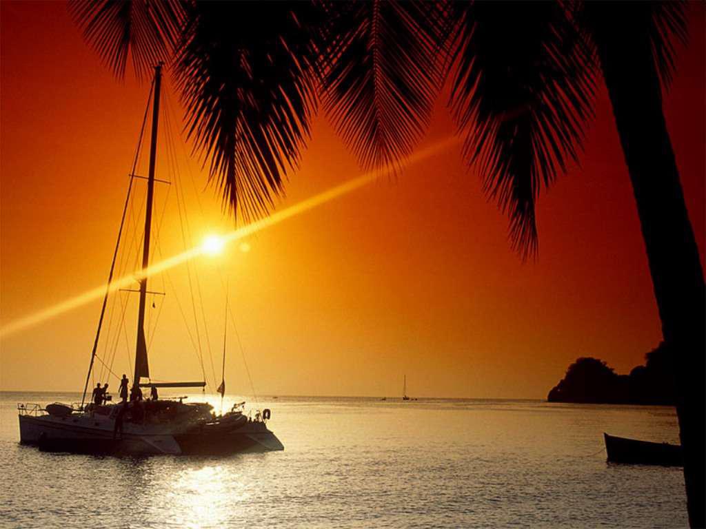 Marigon Bay catamaran sail