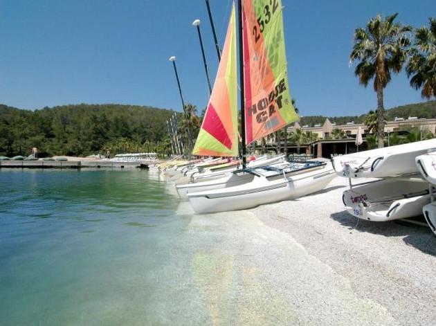 Boats on the seashore