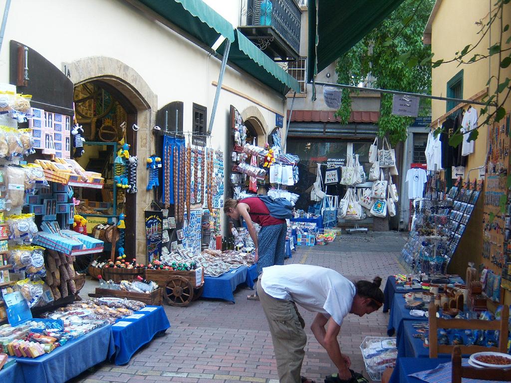 Nicosia shopping trip