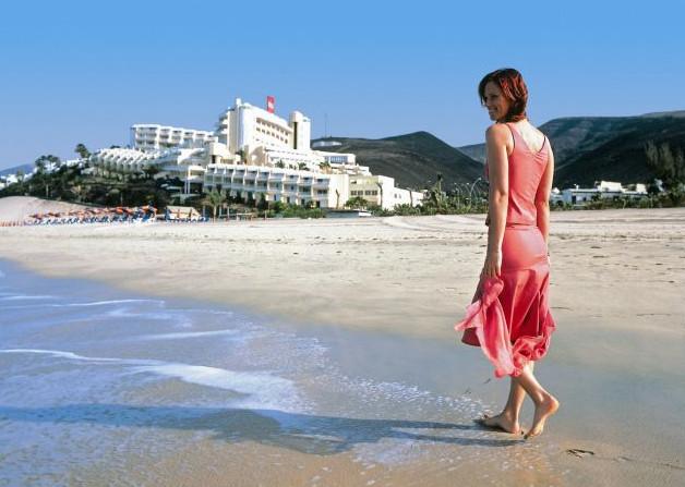 Lady on Beach