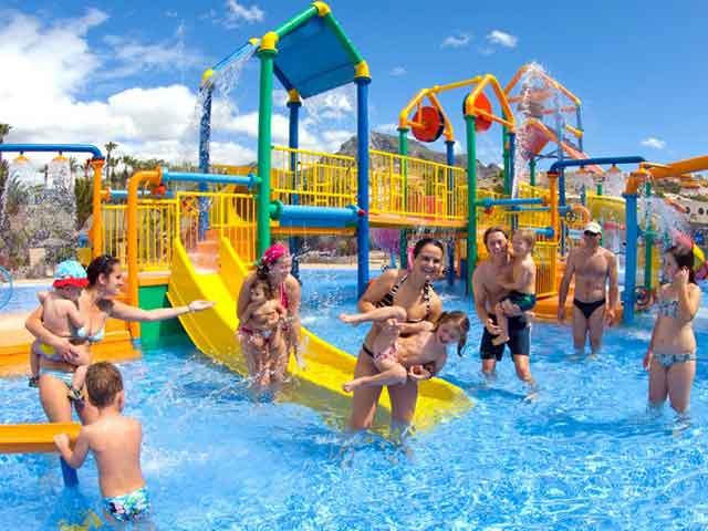 Tenerife holidays and hotels with onsite water park aqua - Aqua tenerife ...