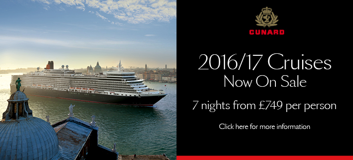 Cunard 2016 Launch