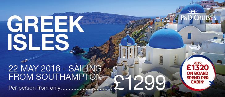 P&O Greek Isles