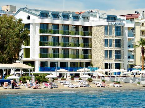 Geriausiai turistų įvertinti viešbučiai Marmaryje