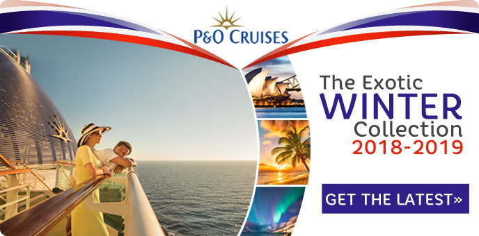 P&O Cruises - Winter 2018-2019