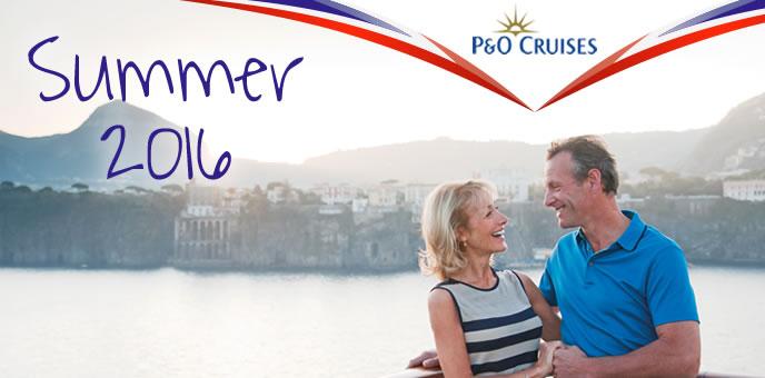 P&O Cruises Summer Cruises