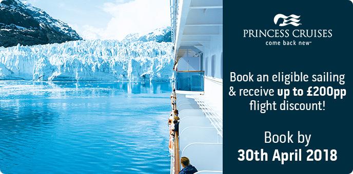 Princess Cruises - Alaska Air Discount