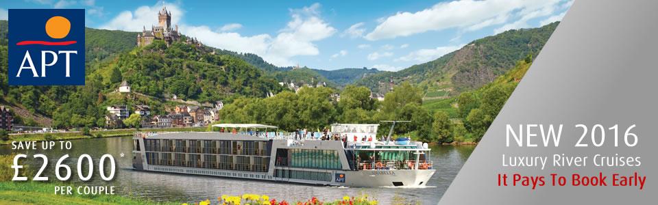 APT 2016 European River Cruises