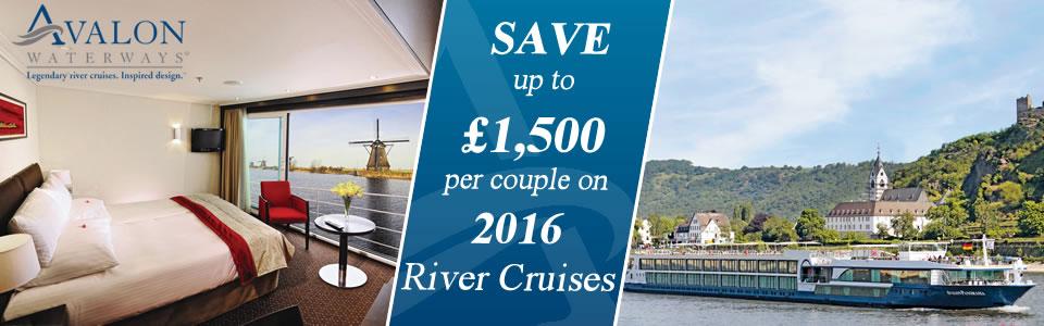 Avalon Waterways 2016 River Cruises