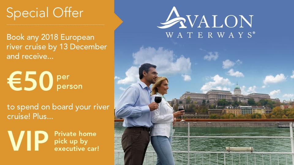 Avalon Waterways 2018