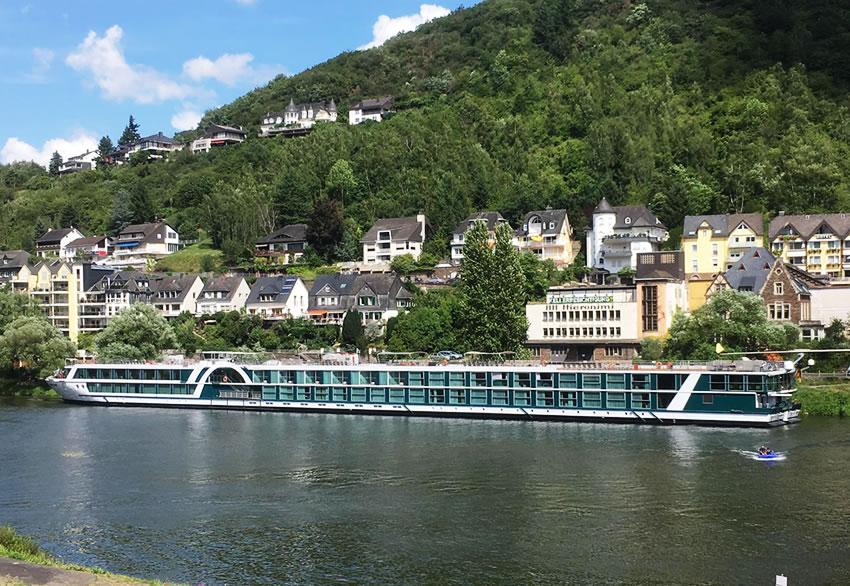 Amadeus Silver in Cochem, River Rhine