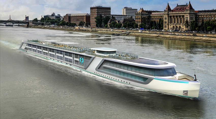 Crystal Cruises River Yacht