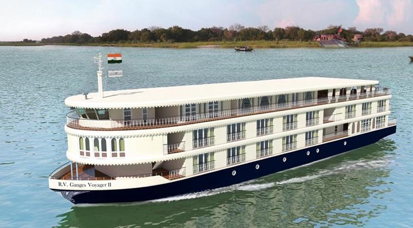 Uniworld Ganges Voyager Artist Impression