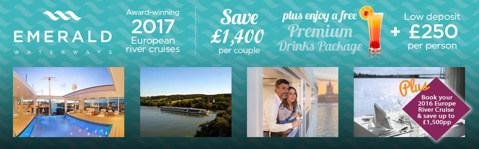 Emerald Waterways 2016 & 2017 River Cruises
