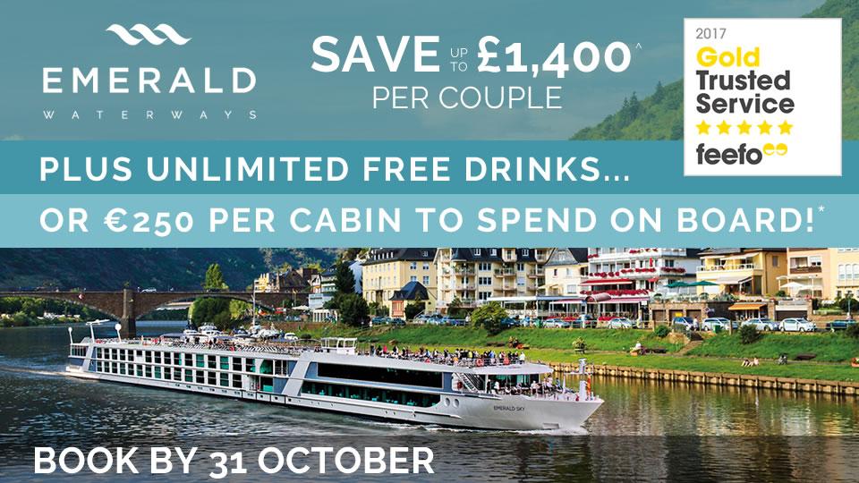 Emerald Waterways 2018 River Cruises