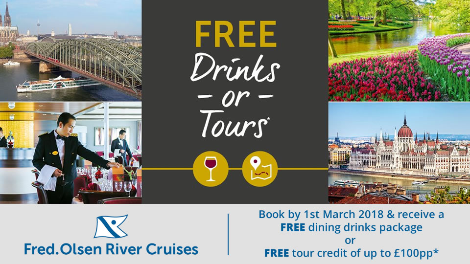 Fred Olsen 2018 River Cruises