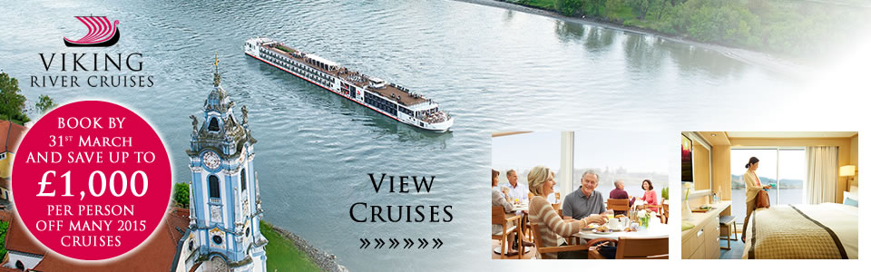 New Viking 2015 River Cruises