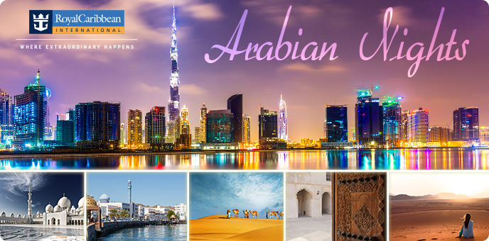 Royal Caribbean - Arabian Gulf Dubai Emirates Cruises Jewel of the Seas