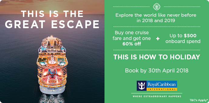Royal Caribbean - 2018 Cruise Offers