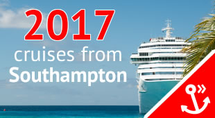 Cruises from Southampton in 2017