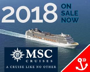 MSC Cruises 2018