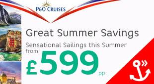 P&O Cruises 7 Day Sale