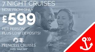 Princess Cruises - 5% deposit