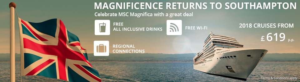MSC Cruises - 2017 & 2018 On Sale Now