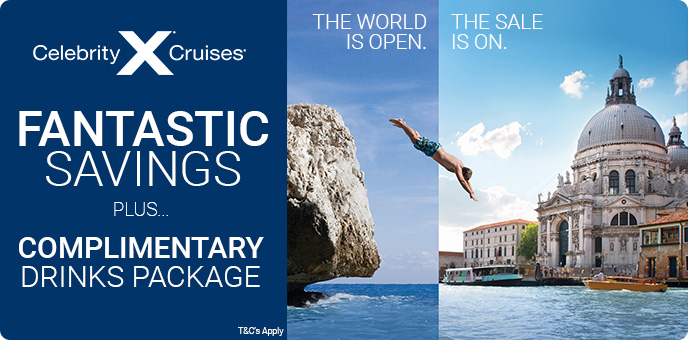 Celebrity Cruises - The World is Open
