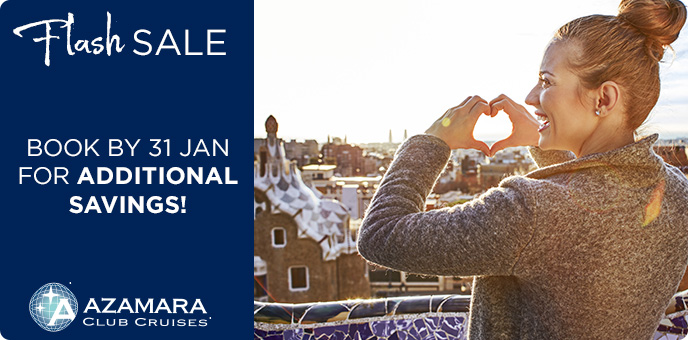 Azamara Club Cruises - Flash Sale
